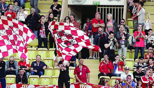 Les supporters de la rencontre AS Monaco-Caen