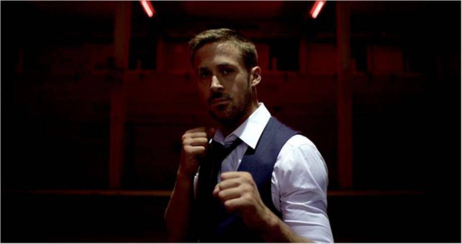 """Ryan Gosling  au générique d'""""Only God Forgives""""."""