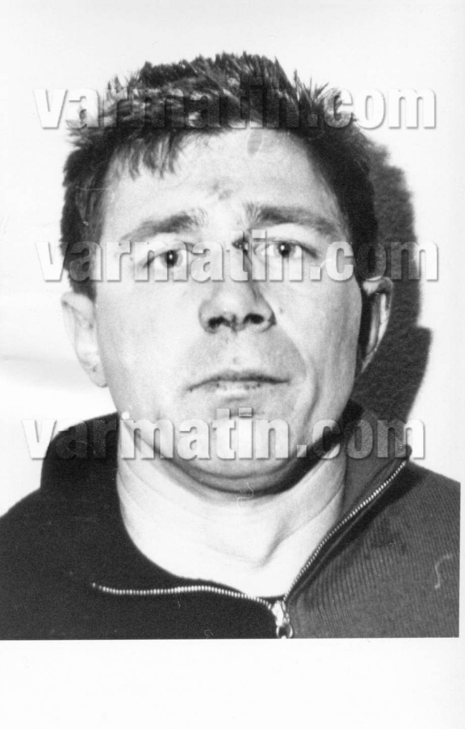 """Marc Armando (sur cette photo prise en 1992) était soupçonné d'être le cerveau présumé du """"casse du siècle"""" à la Banque de France, à Toulon"""
