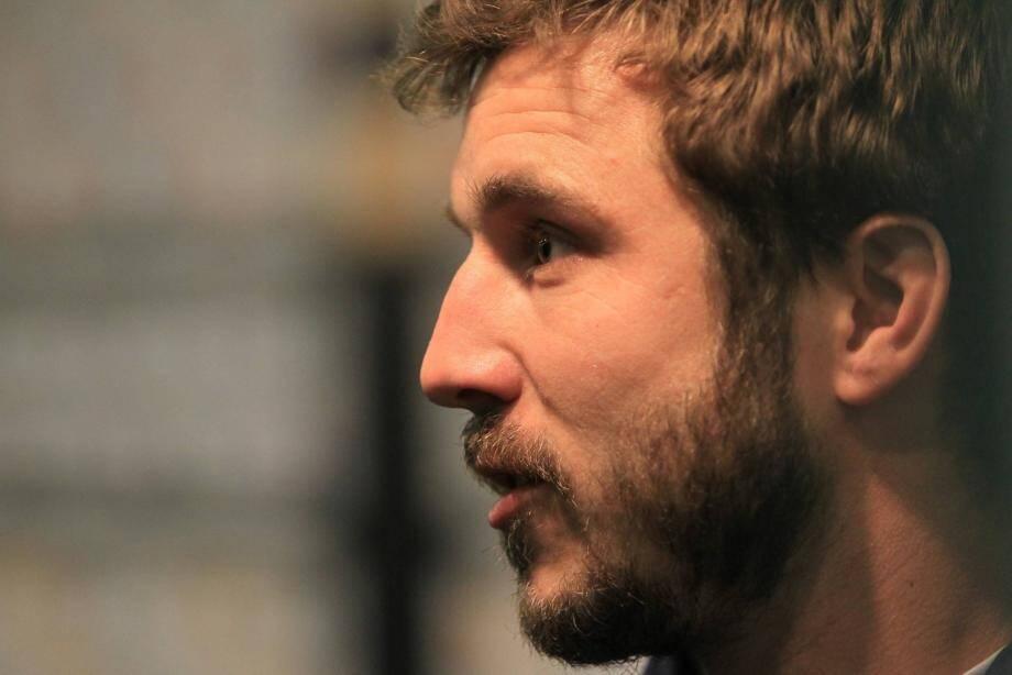 """Marc Andreu, ancien joueur Toulonnais, affrontera avec son équipe de Castres, les """"rouge et noir""""."""