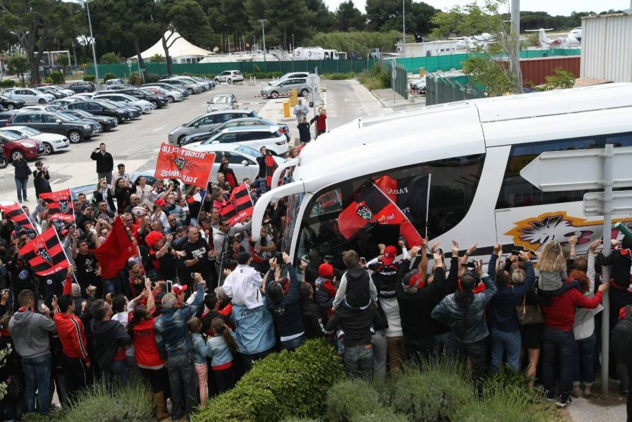 Pas de bain de foule pour le RCT de retour à Toulon