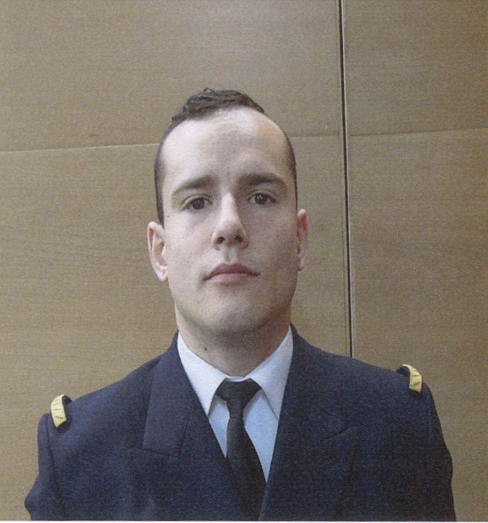 En formation au CIN (le Centre d'instruction navale de Saint-Mandrier), Dieter Ruben, 26 ans, était absent lundi dernier à l'appel du matin, où il était attendu.