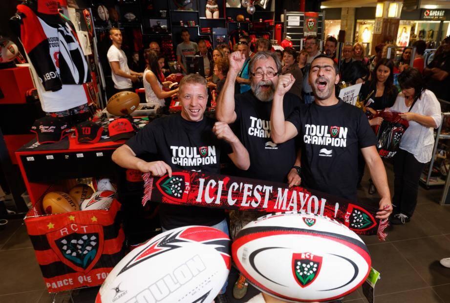 Les supporters ont promis de revêtir le fameux t-shirt collector vendredi soir pour le match contre Toulouse.