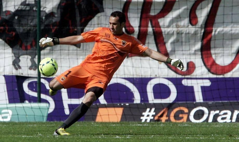 David Ospina garde les buts de l'OGCN depuis 2008.