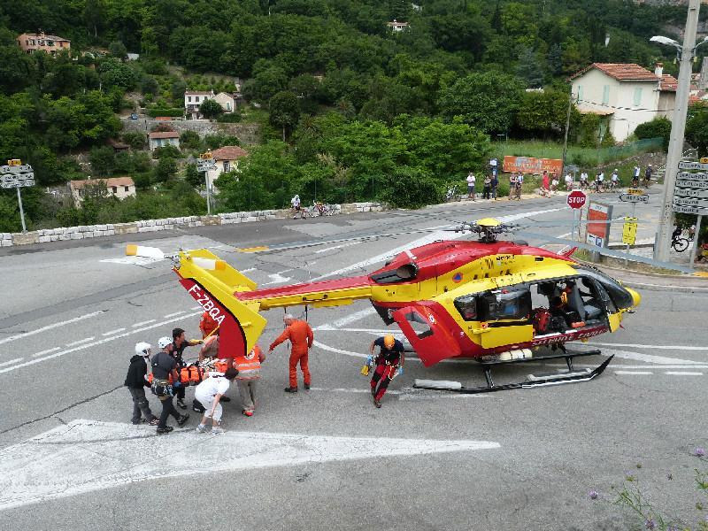 Accident Ironman 2013