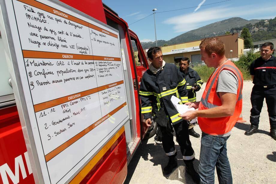 Les pompiers du SDISsont arrivés très vite sur les lieux.