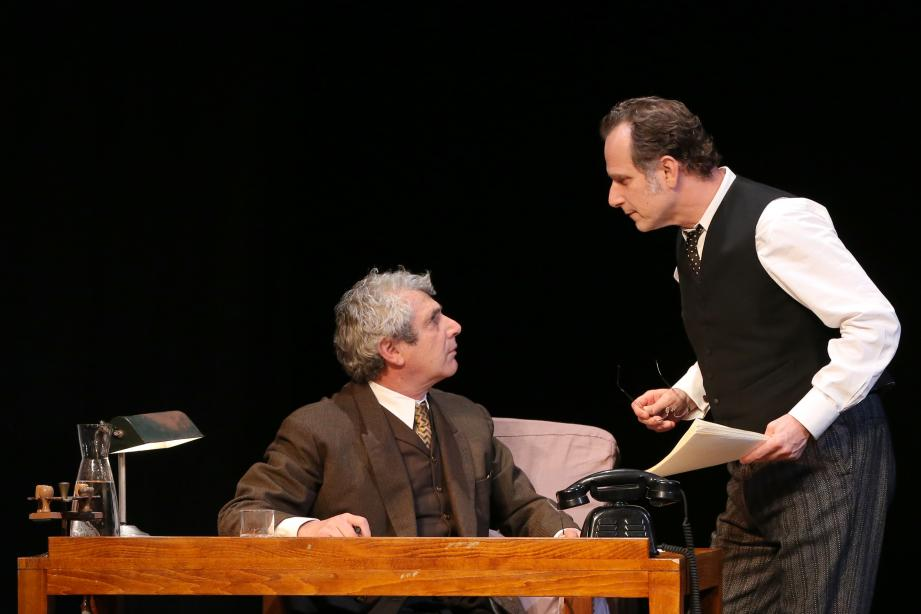 Michel Boujenah et Charles Berling seront à Anthéa le 10 janvier pour Inconnu à cette adresse, un drame mis en scène par Delphine de Malherbe.