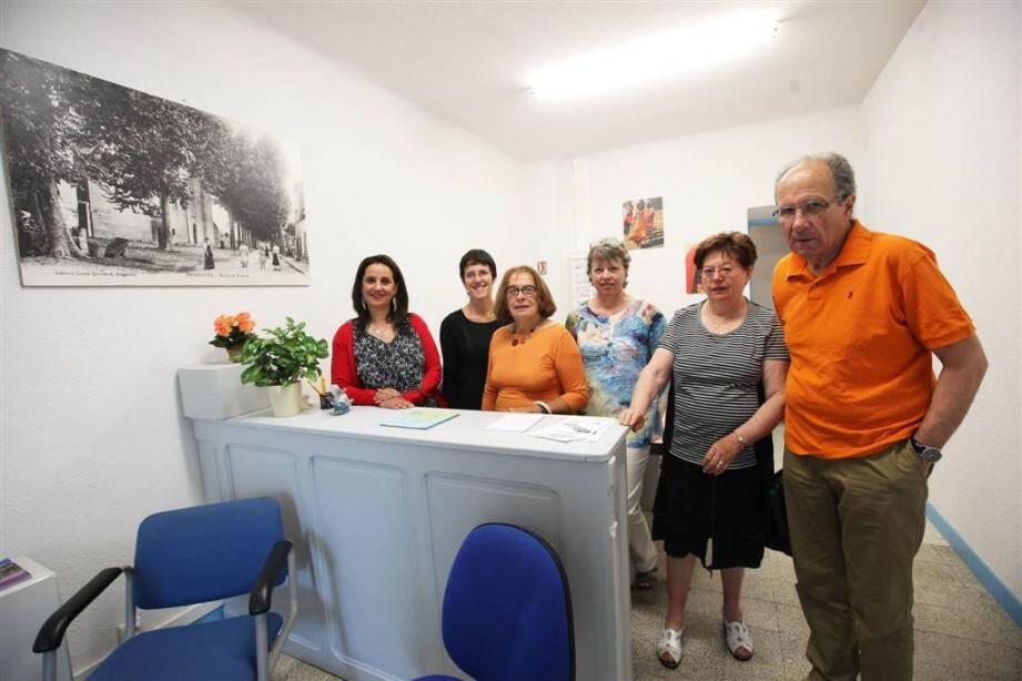 """Elle doit être inaugurée mercredi prochain à l'espace Gavoty, à Brignoles, mais depuis le 10 juin dernier, l'action de """"Provence verte solidarités"""" reçoit le public déshérité, en mal de couverture sociale."""