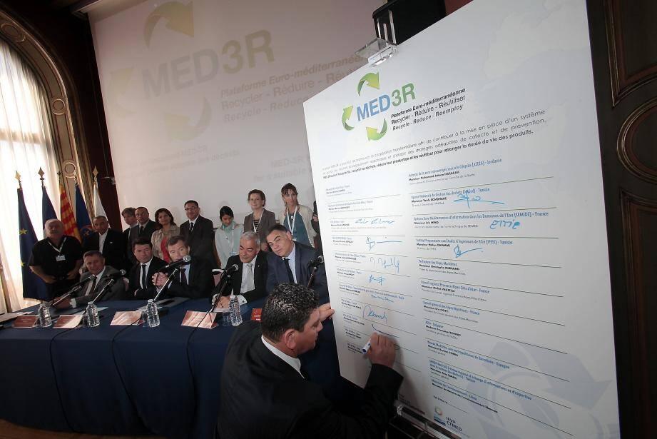 Le réseau Euromed est présidé par Christian Estrosi, depuis 2008.