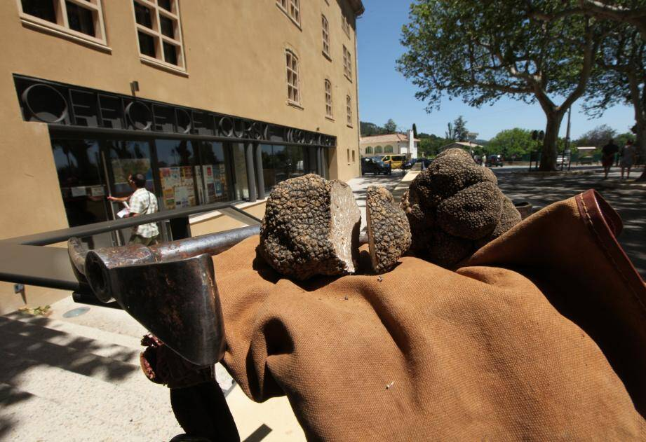 La gourmandise peut être le prétexte à une escapade au marché aux truffes blanches d'Aups.