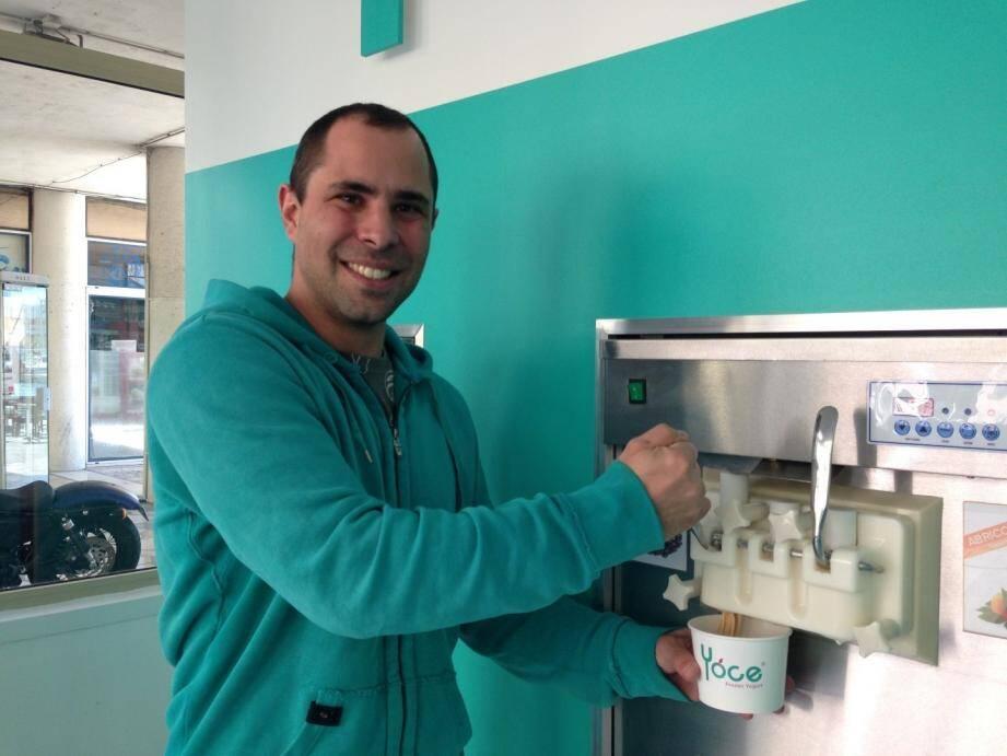 Yoce : un yaourt glacé à Toulon