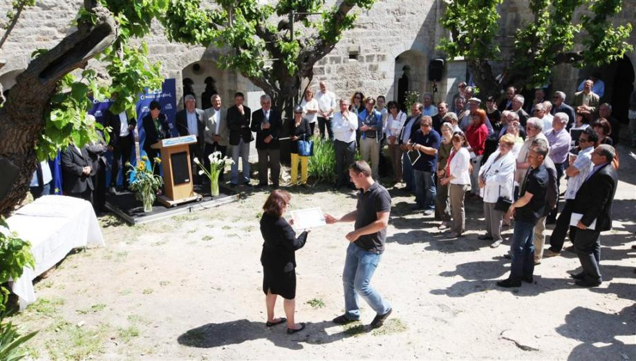"""Remise des prix """"Terres du Var"""" à l'abbaye de La Celle"""