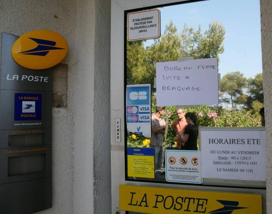 Le bureau de Poste de La Capte devrait rouvrir ce vendredi matin.