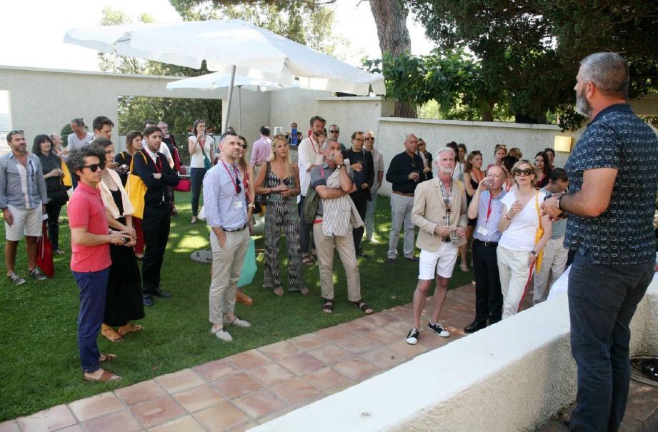 Jean-Pierre Blanc a reçu de nombreux invités pour l'inauguration de la 8e édition de la Design Parade.