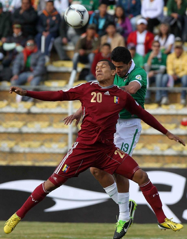 L'international vénézuélien lors des éliminatoires de la Coupe du Monde 2014 au Brésil.