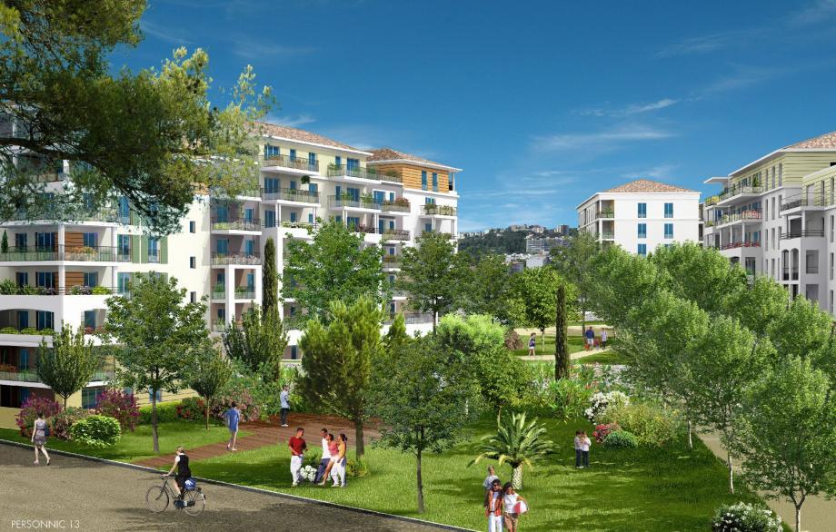 À l'intérieur du site, la priorité a été donnée à l'aménagement paysager. Le public pourra arpenter des allées boisées, un cheminement piétonnier depuis l'avenue Colonel-Picot.