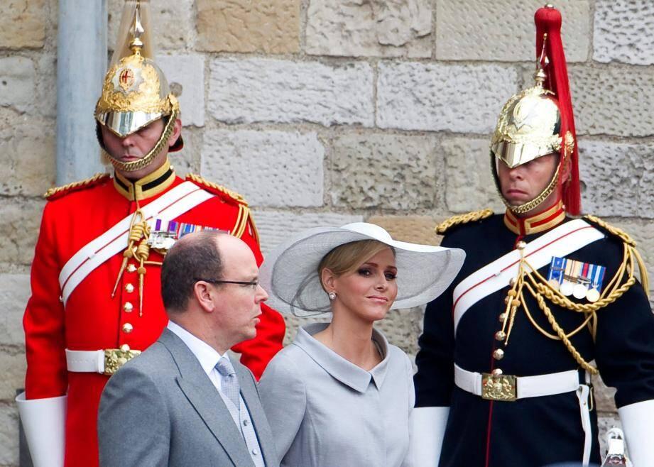Le couple princier avait assisté en avril 2011 aux noces du prince William et de Kate Middleton.