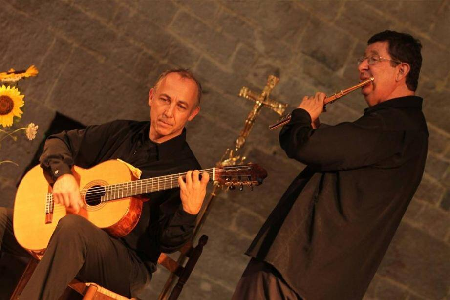 Philippe Depetris et Pascal Polidori enchantent les Nuits de La Celle