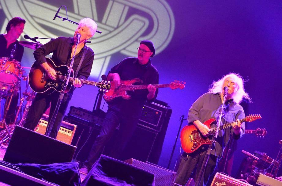Crosby Stills & Nash: l'esprit de Woodstock flotte sur Monaco