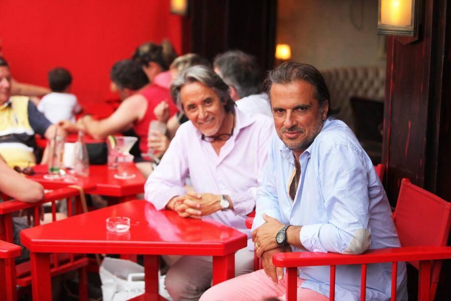 Thierry Bourdoncle (à droite sur la photo) veut rendre ses lettres de noblesse à Sénéquier, sans faire de révolution. Pour cela, il fait confiance à Jean-Robert De la Cruz.