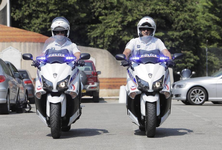"""Les scooters sont testés principalement pour faire des patrouilles, des contrôles routiers et """"combattre la délinquance routière."""""""