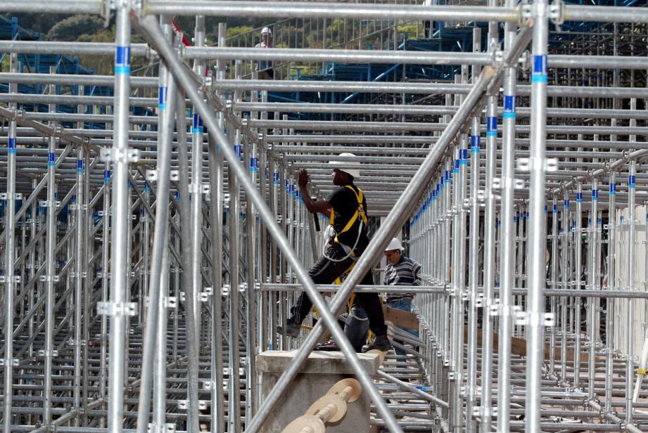 L'accident s'est produit en 2012, dans la tribune K2.