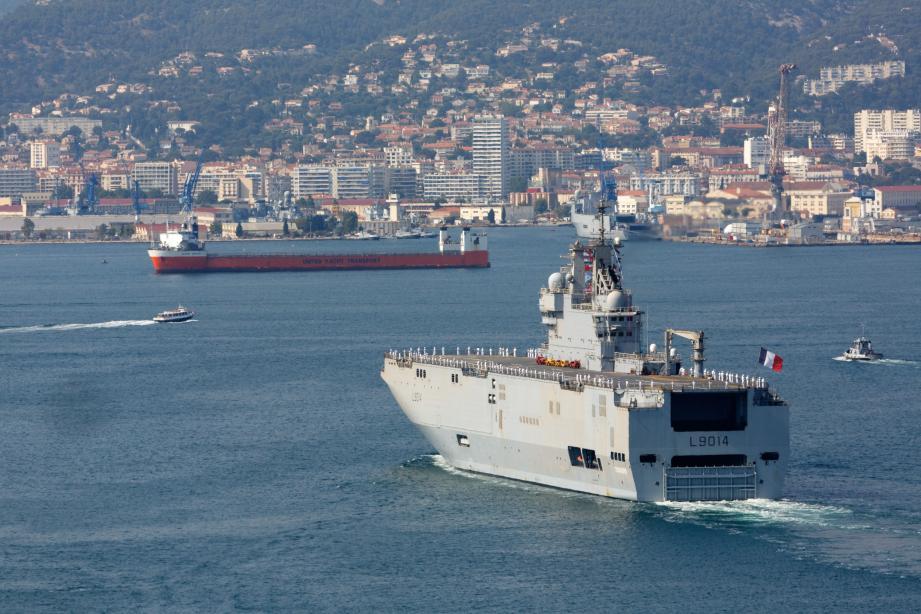 Partis le 6 mars de Brest, le bâtiment de projection Tonnerre et de la frégate Georges Leygues ont regagné hier après-midi l'arsenal de Toulon.