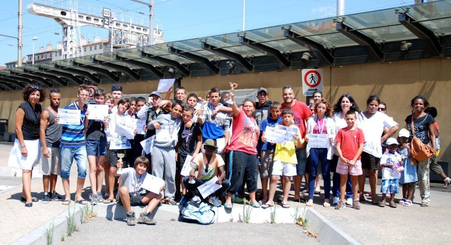 Ces jeunes Toulonnais ont porté haut les couleurs de la ville dans les hautes-Alpes.
