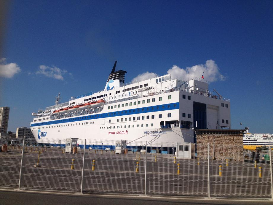 Le Méditerranée ce mardi matin à Toulon