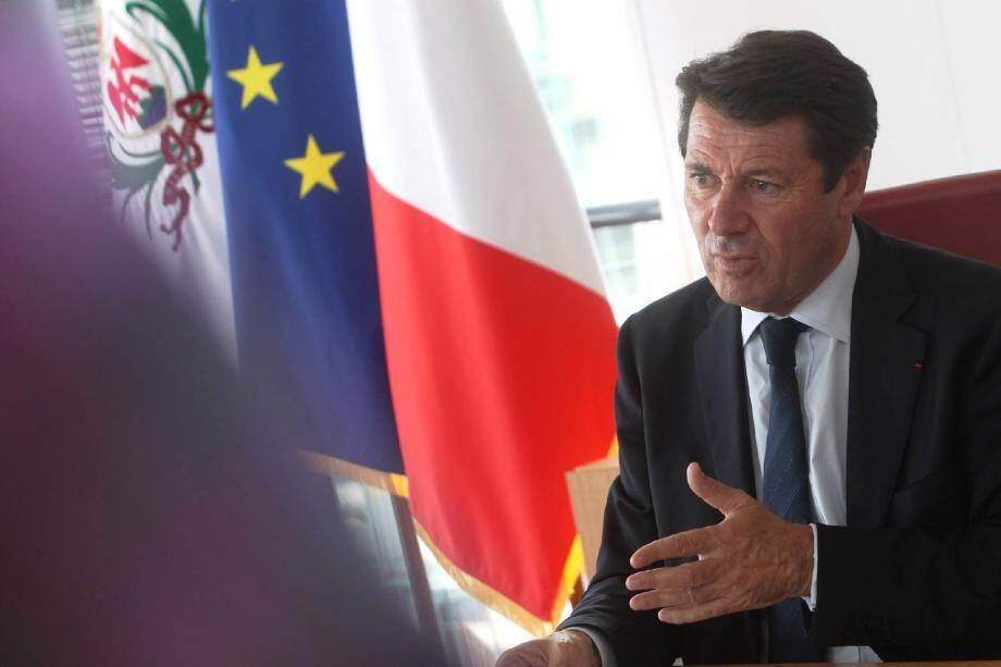 Christian Estrosi s'est exprimé sur Europe 1 ce dimanche matin.