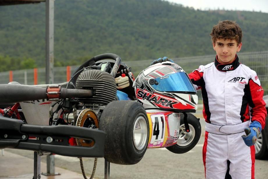 Timothy Peisselon a bouclé sa première saison avec une place de vice-champion de région et une quatrième position au championnat de France.