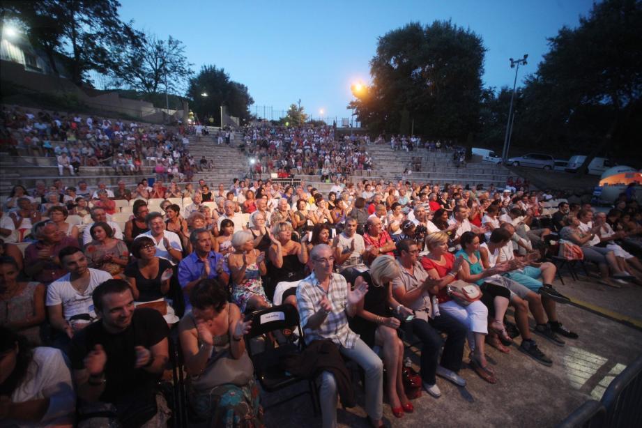 Trois heures de bonheur pour les quelque 2 000 spectateurs réunis dans théâtre de verdure des Arcs-sur-Argens.