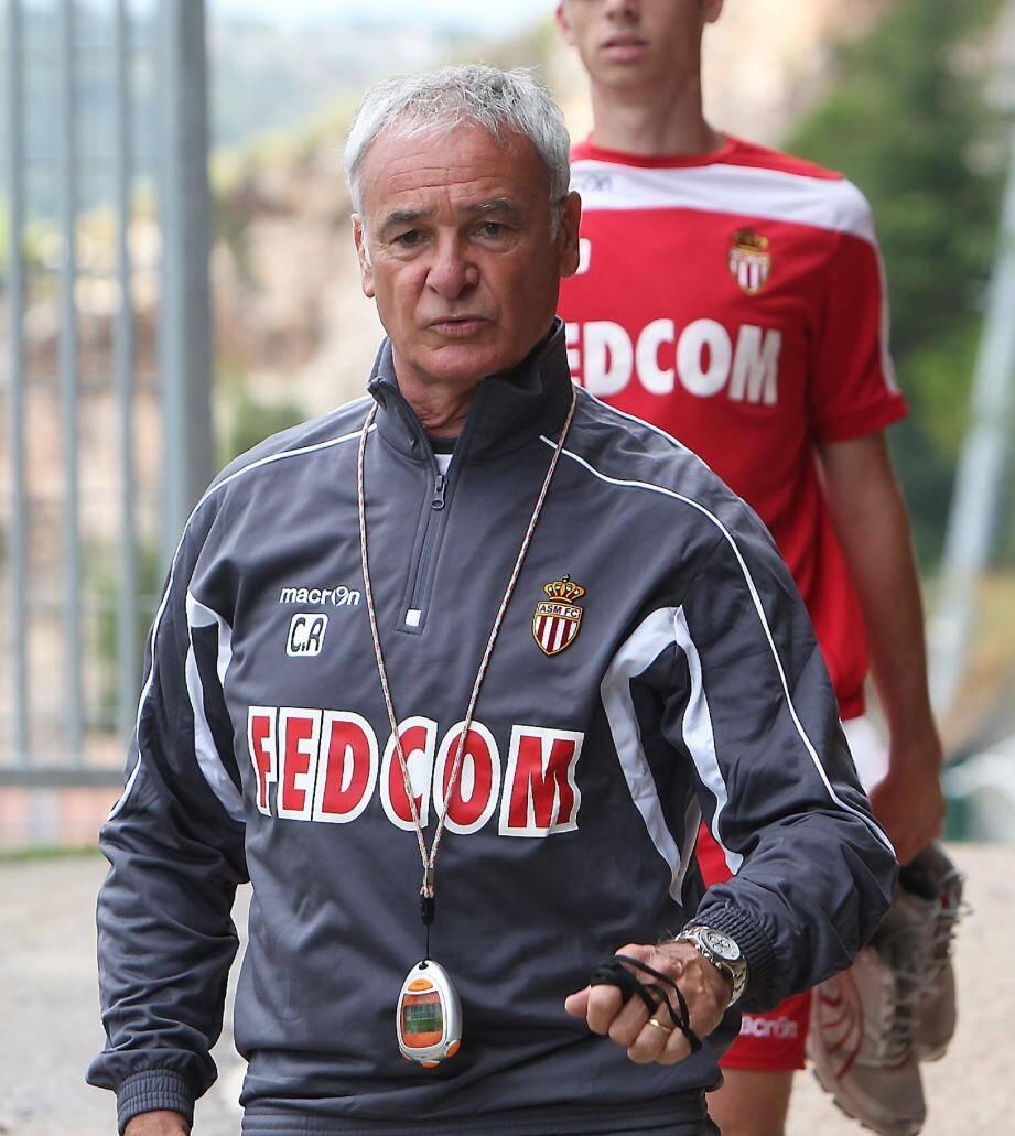 Claudio Ranieri veut se jauger contre l'OM.