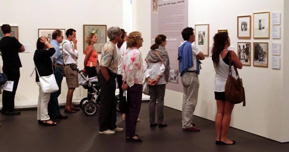 Ils sont près de 670 amateurs, en moyenne, à visiter chaque jour l'exposition « Monaco fête Picasso ».