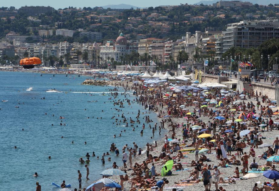 La Promenade des Anglais à Nice.