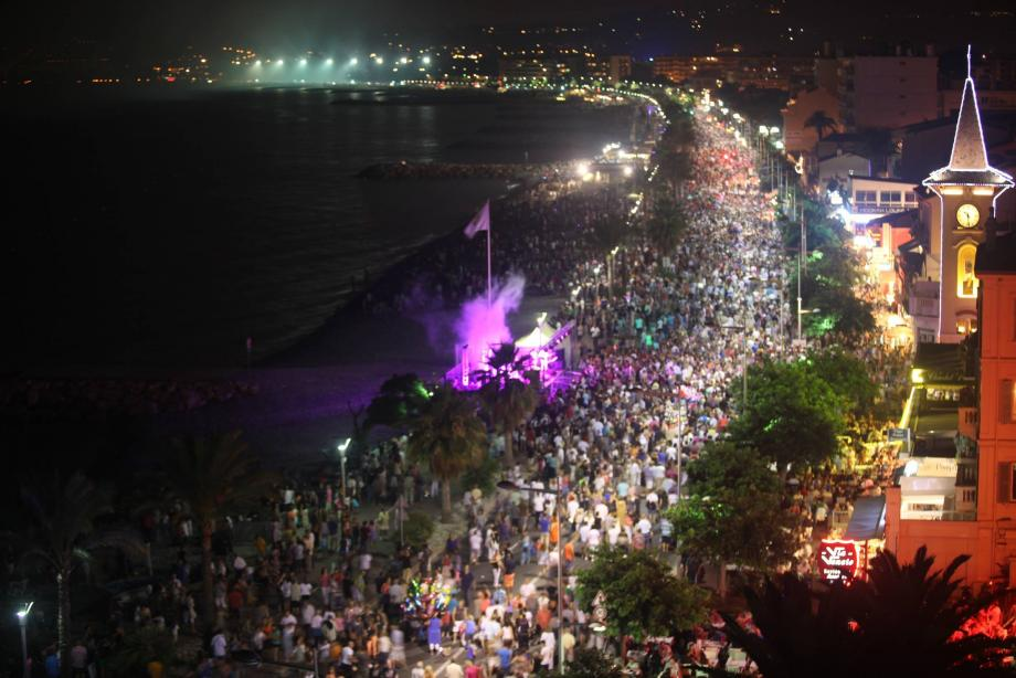 Le 13 juillet, pour Promenade en fête et son feu d'artifice, la commune a enregistré une fréquentation « énorme ».