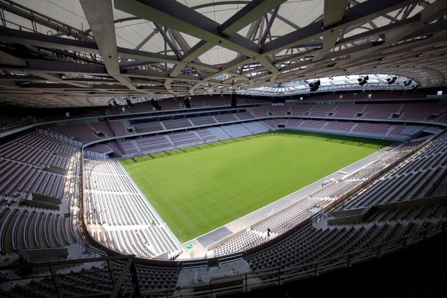 stade allianz riviera bientôt fini