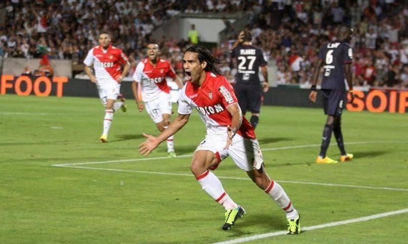 Falcao a marqué pour sa première apparition officielle sous les couleurs de l'AS Monaco.