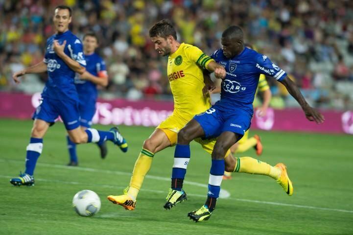 Diakité et Bastia chutent d'entrée à Nantes (2-0).