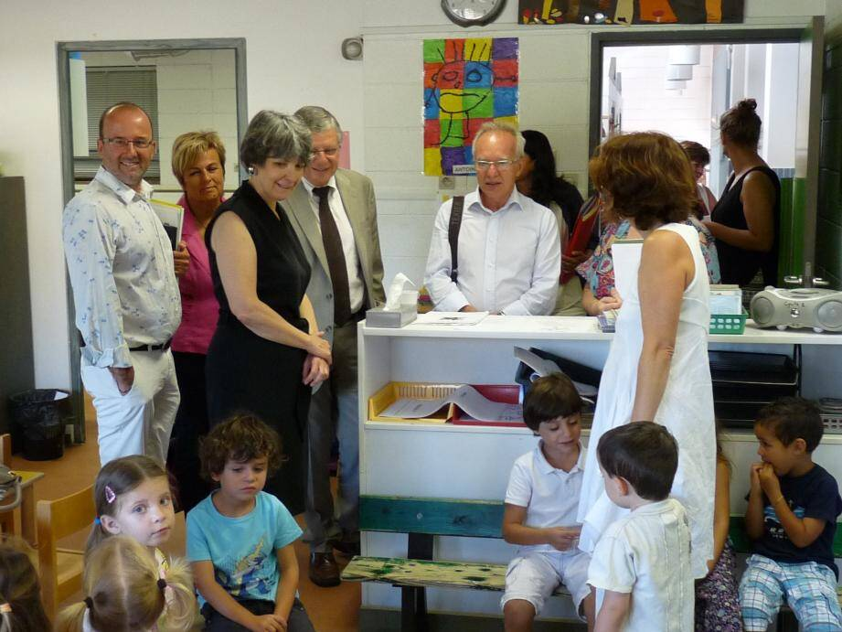 Mouans-Sartoux est l'une des trois communes des Alpes-Maritimes a mettre en place dès cette année la réforme des rythmes scolaires.
