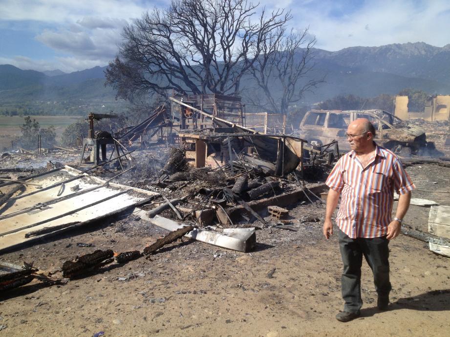 Plus d'une centaine d'hectares sont partis en fumée ce mardi matin sur la commune de Ghisonaccia