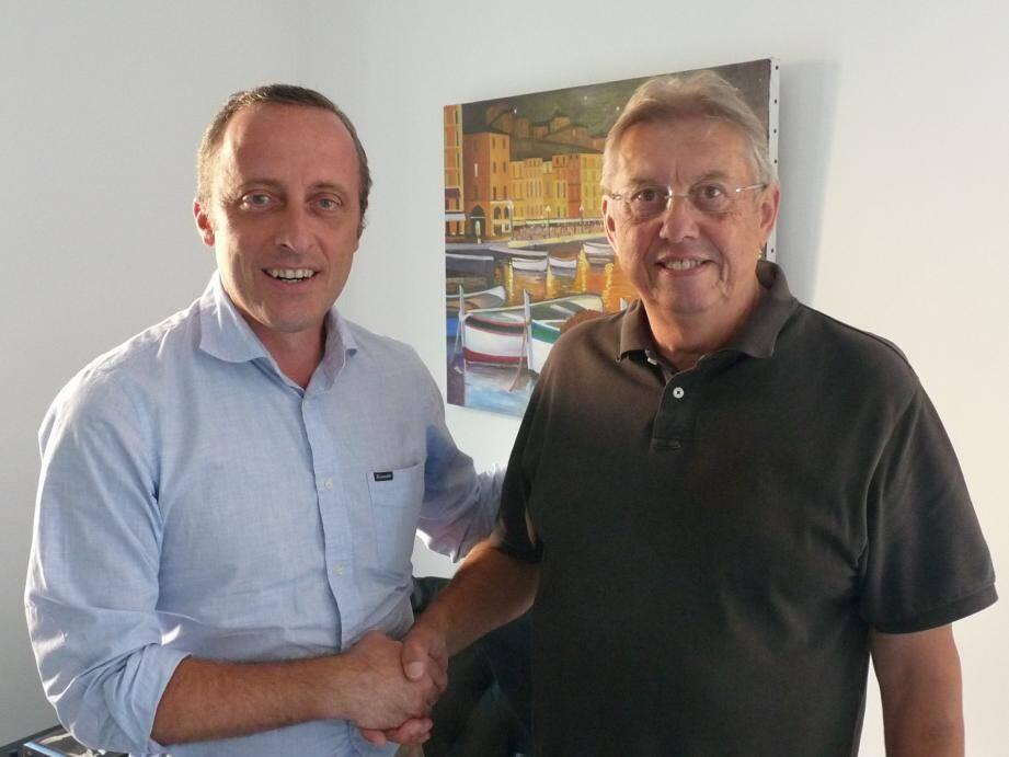 Christophe Trojani et Jean-Paul Geay ont scellé leur alliance.