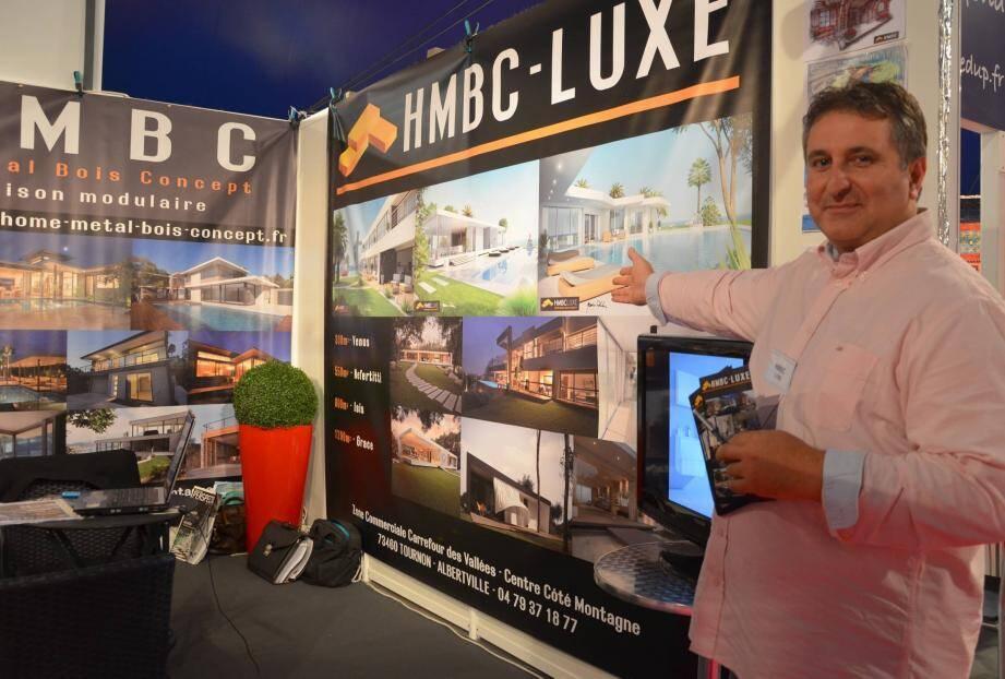 En quatre ans, HBCM a construit plus d'une vingtaine de ces maisons écolos dont l'extension de Sephora à Saint-Tropez.