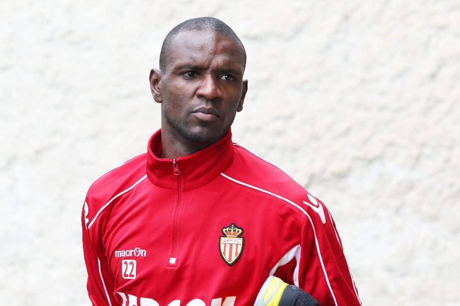 Le capitaine de l'AS Monaco Eric Abidal.