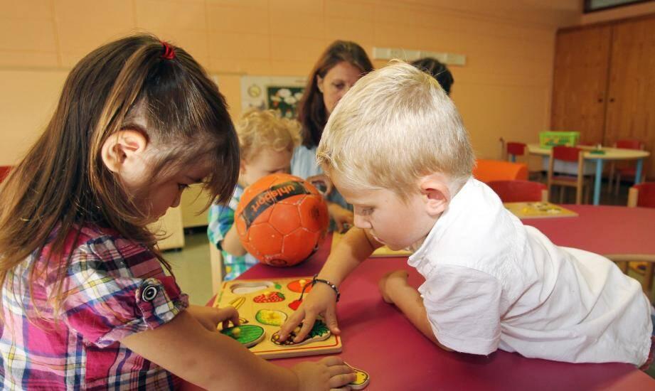 L'école Eugène-Vial,à Cannes, a acceuilli des enfants à partir de deux ans