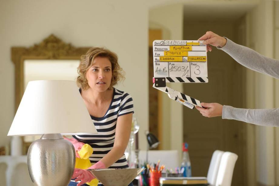 Christine Lemler et ses amis comédiens s'apprêtent à revenir tourner, durant plusieurs semaines, la seconde saison de la série dans le golfe de Saint-Tropez.