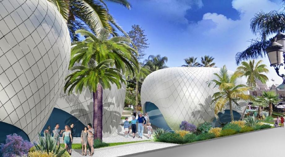 Un look résolument contemporain pour l'esplanade des Boulingrins à partir du printemps 2014. (Repro SBM)