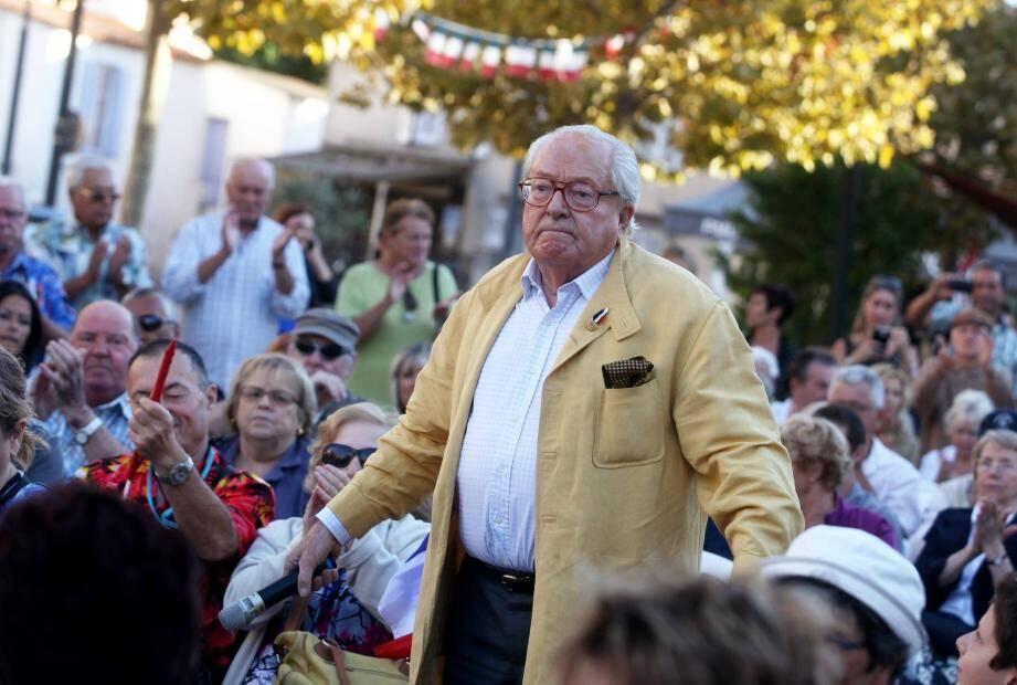 Jean-Marie Le Pen Six-Fours le 13 septembre 2013