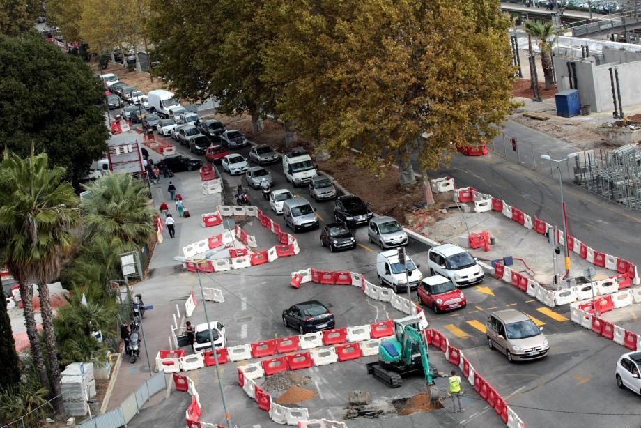 Depuis hier, il est possible de rejoindre la voie rapide depuis l'avenue Vautrin. Une nouveauté qui devrait alléger la circulation.