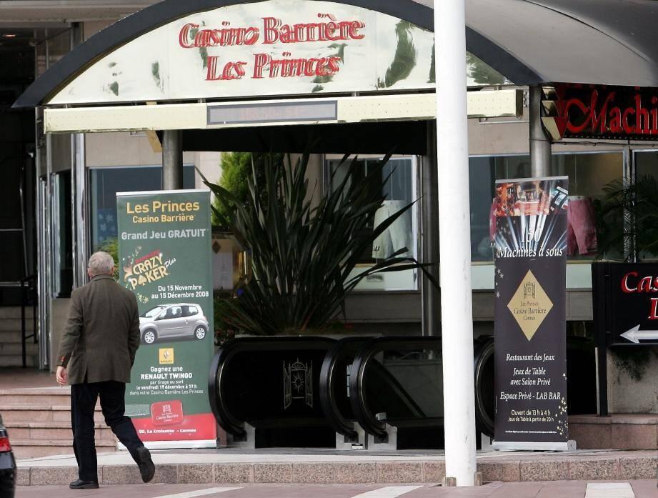 Le casino Barrière Les Princes à Cannes